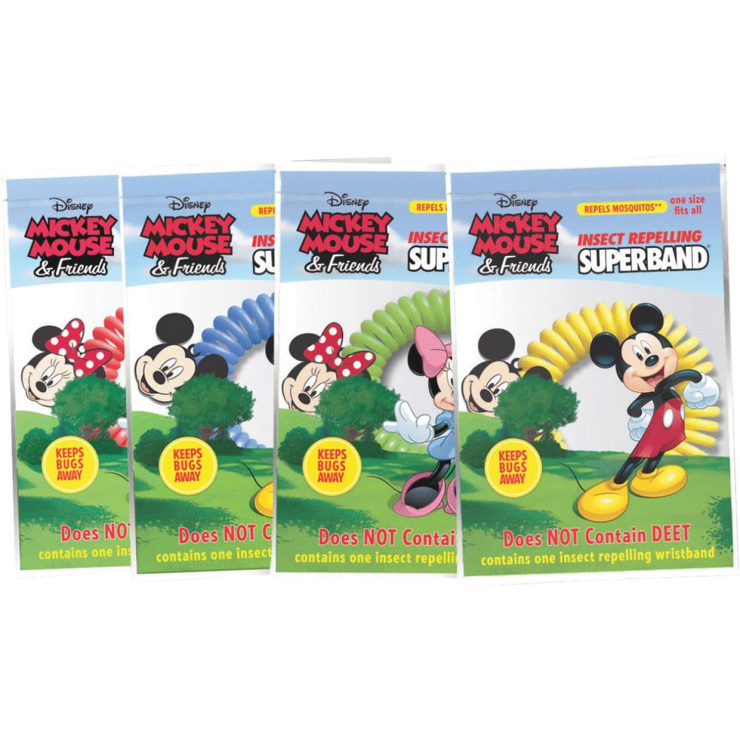 Evergreen Products Disney Assorted Color Insect Repelling Wristband Image 2