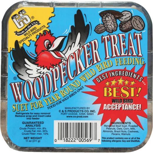 C&S 11 Oz. Woodpecker Treat Suet