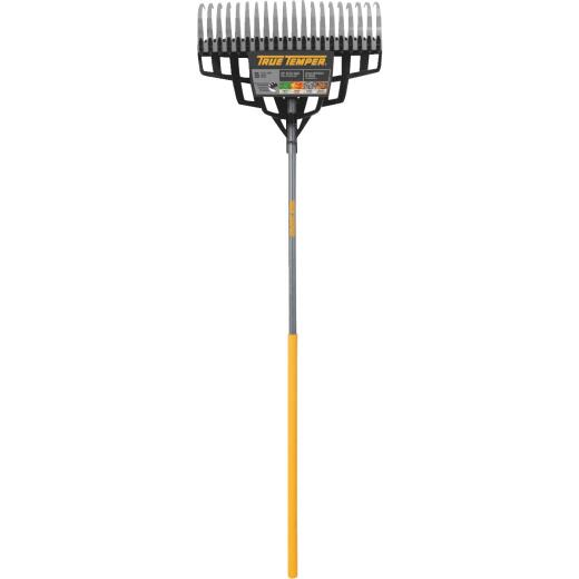 True Temper 20 In. Multi-Purpose Leaf Rake (20-Tine)