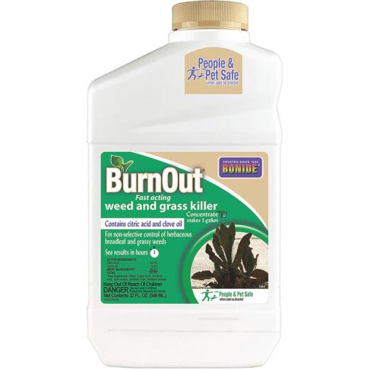Bonide BurnOut 1 Qt. Concentrate Organic Weed & Grass Killer