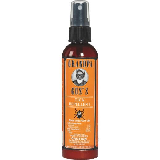 Grandpa Gus's 4 Oz. All Natural Tick Repellent Pump Spray