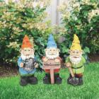 Alpine 10 In. Gnome Lawn Ornament Image 2