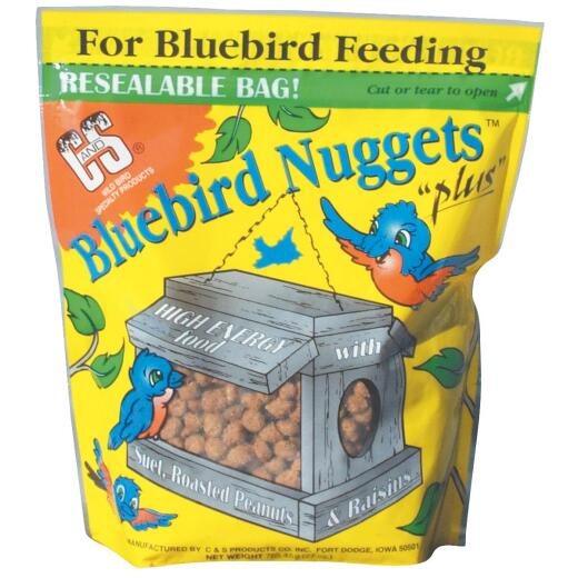 C&S Bluebird Nuggets 27 Oz. Wild Bird Food