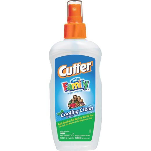 Cutter All Family 6 Oz. Insect Repellent Pump Spray