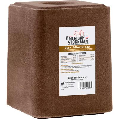 American Stockman 50 Lb. Trace Mineralized Salt Block
