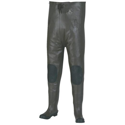 Pro Line Shoe Size 13 Gray Rubber Chest Waders