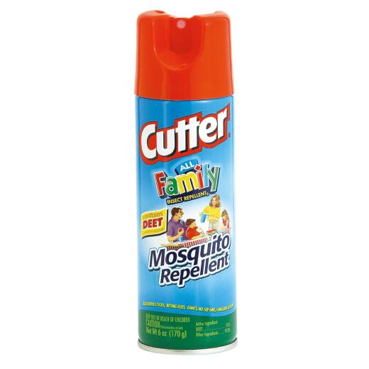 Cutter All Family 6 Oz. Insect Repellent Aerosol Spray