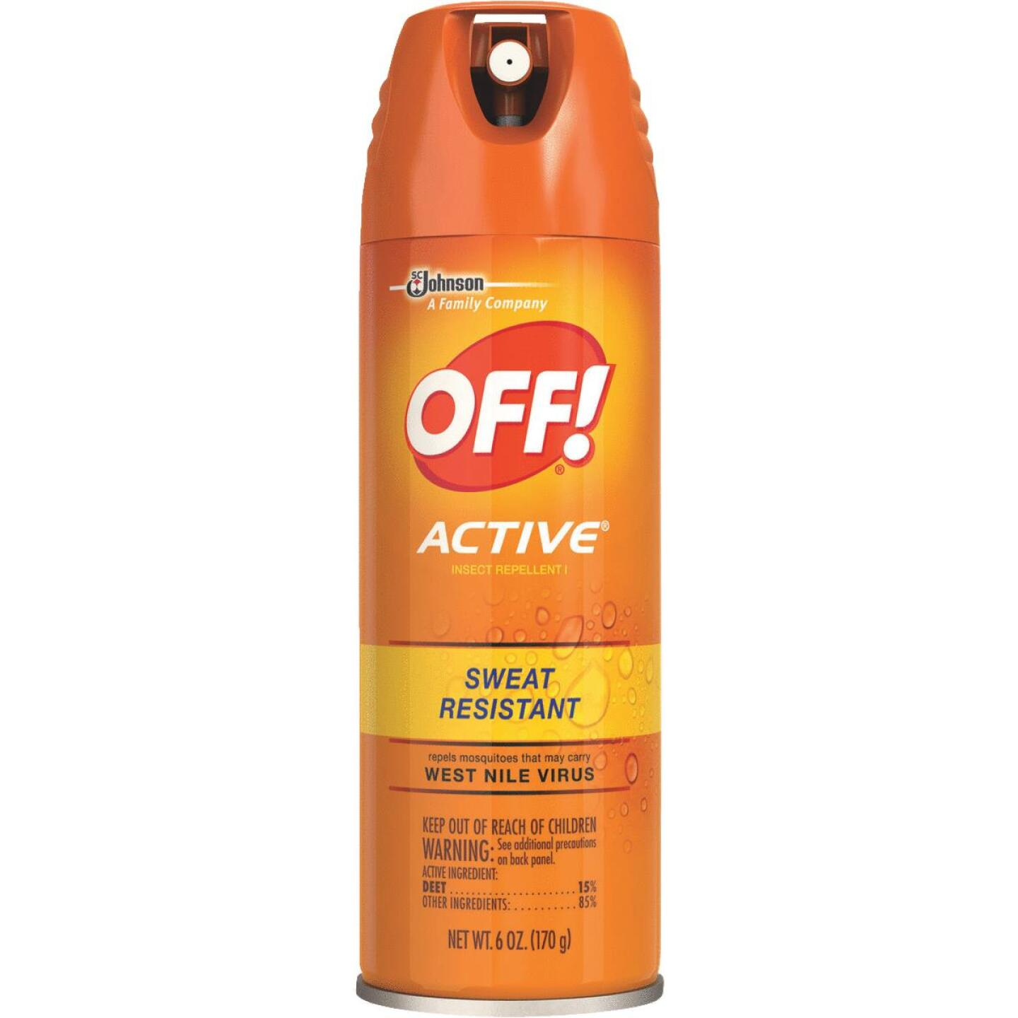 Off Active 6 Oz. Insect Repellent Aerosol Spray Image 1