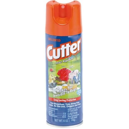 Cutter 6 Oz. Insect Repellent Aerosol Spray