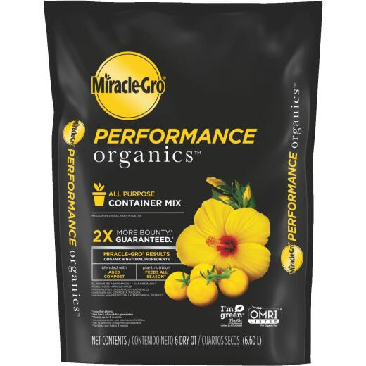 Miracle-Gro Performance Organics 6 Qt. All Purpose Container Mix
