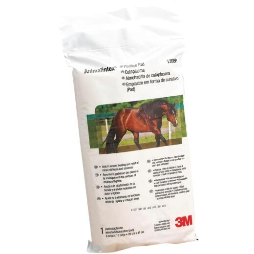 3M Animalintex 8 In. W. x 16 In. L. Poultice Pad