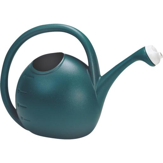Akro Mills 2 Gal. Greenish Blue Poly Watering Can