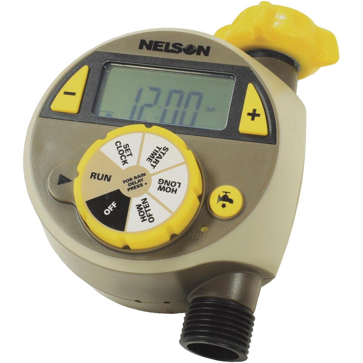 Nelson Electronic 1-Zone Water Timer Image 1