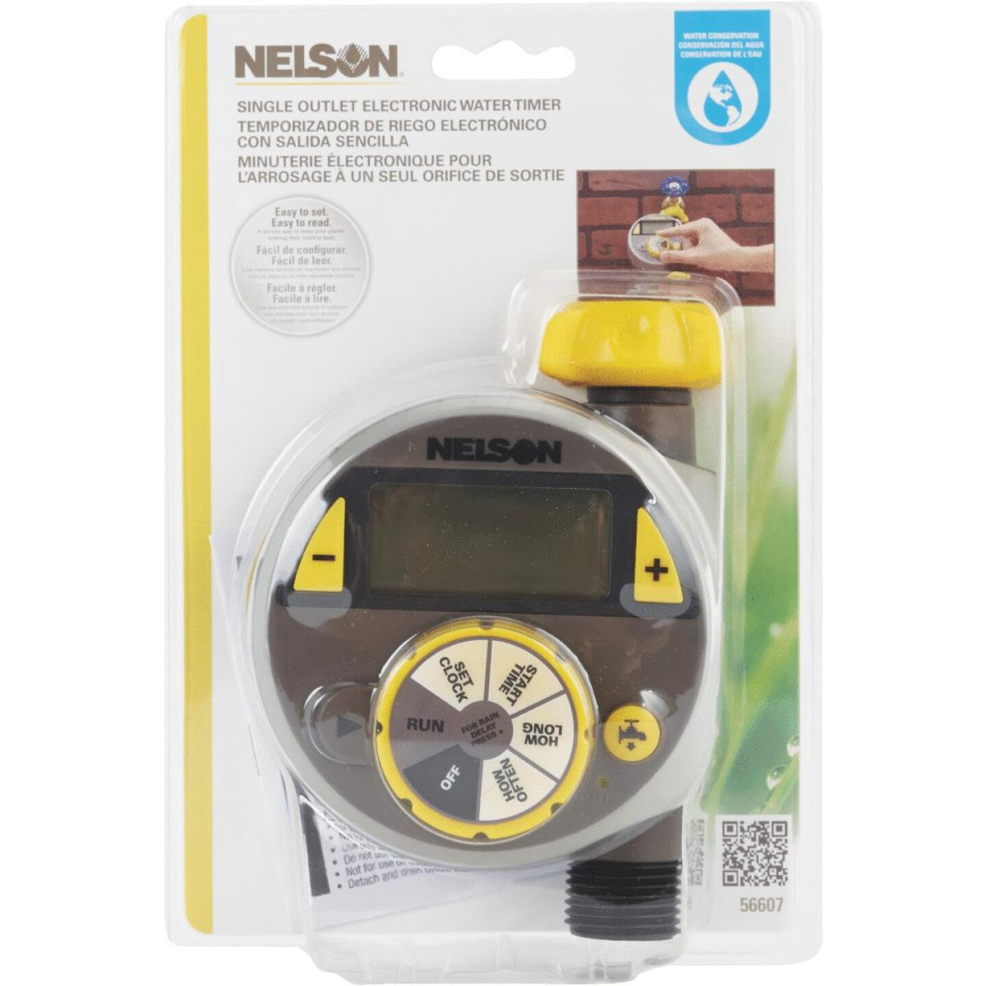 Nelson Electronic 1-Zone Water Timer Image 2