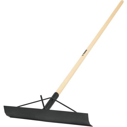 Truper 4-3/4 In. x 18 In. Industrial Contractor Concrete Rake