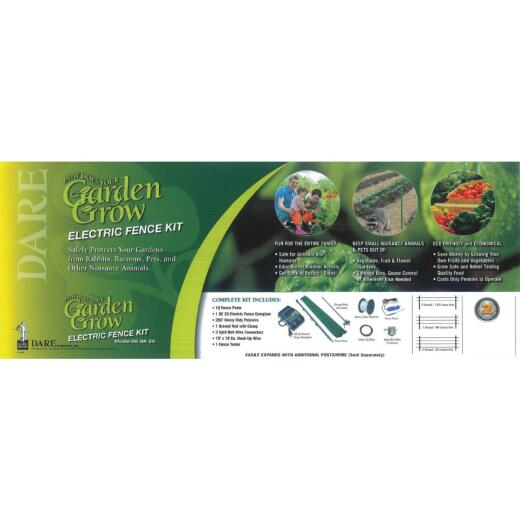 Dare Garden Safe 100 Ft. Electric Fence Kit