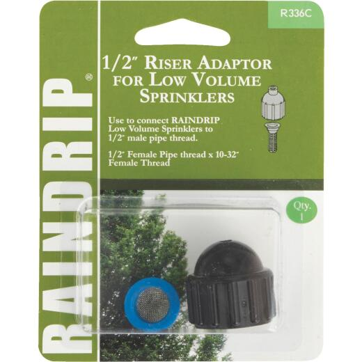 Raindrip 1/2 In. Female Pipe Thread x 1/2 In. Female Pipe Thread Sprinkler-To-Drip Adapter
