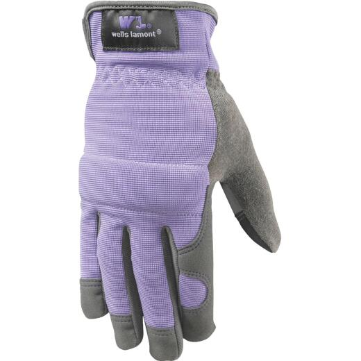 Wells Lamont Women's Small Synthetic Suede Leather High-Dexterity Work Glove