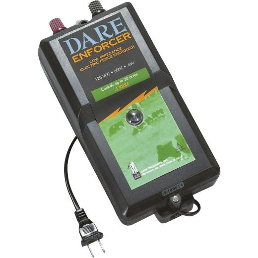 Dare Enforcer 20-Acre Electric Fence Charger
