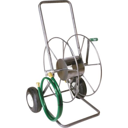 Yard Butler 200 Ft. Metal Metal Portable 2-Wheel Hose Reel