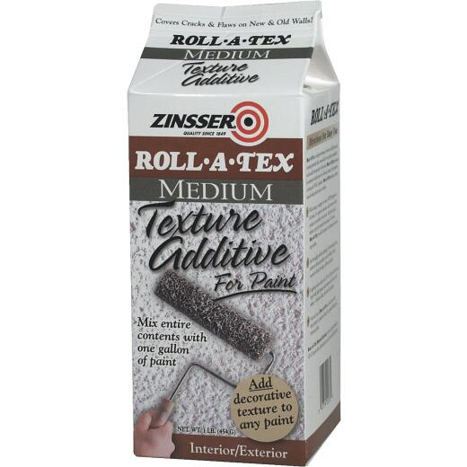 Zinsser Roll-A-Tex Medium Texture Additive, 1 Lb.