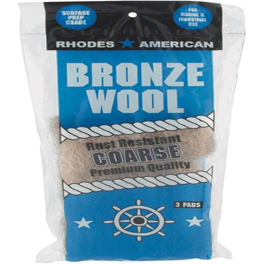 Homax Coarse Bronze Wool (3 Pack)