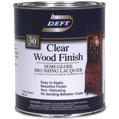 Deft Semi-Gloss Quart 100 Sq. Ft./Qt. Lacquer