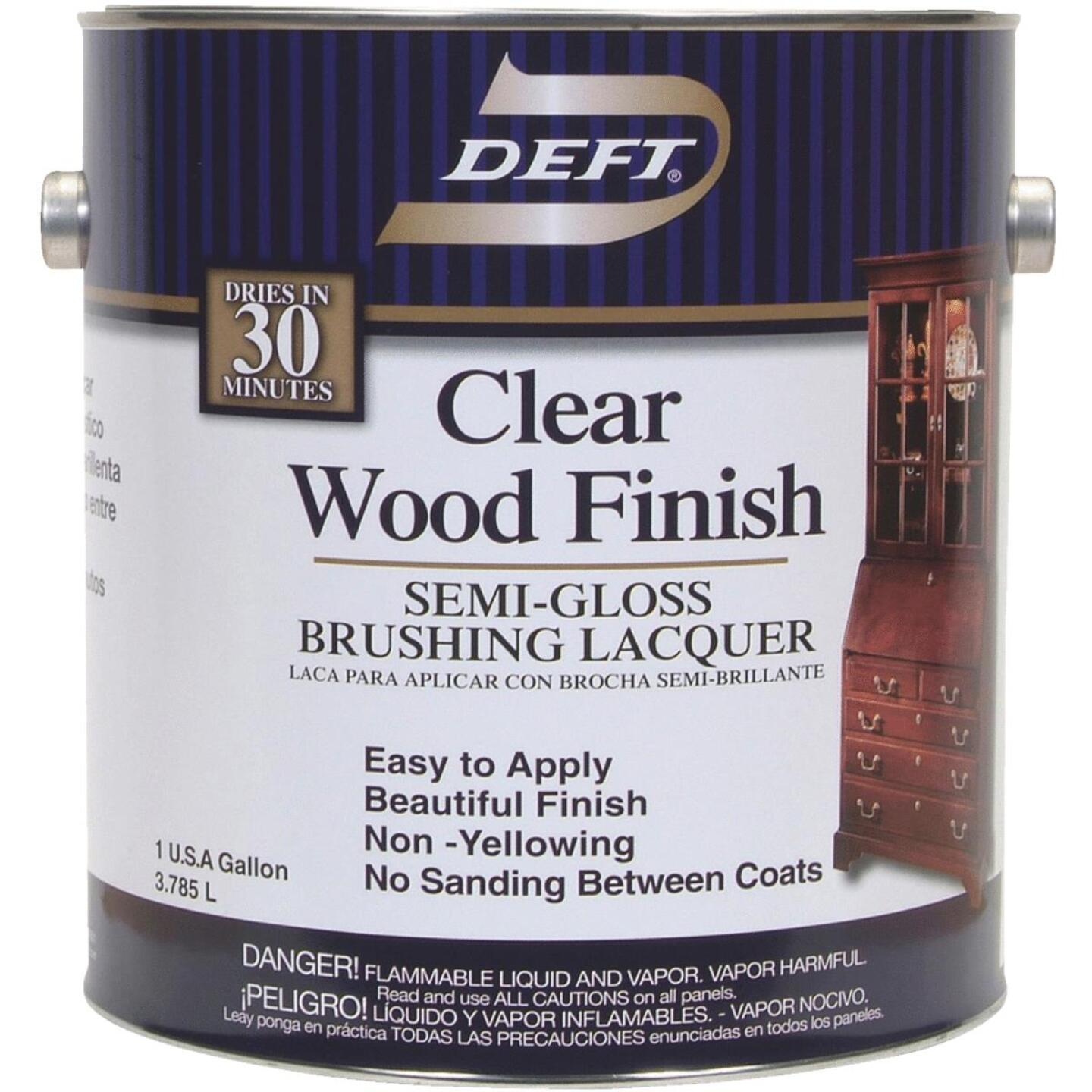 Deft Semi-Gloss Gallon 400 Sq. Ft./Gal. Lacquer Image 1