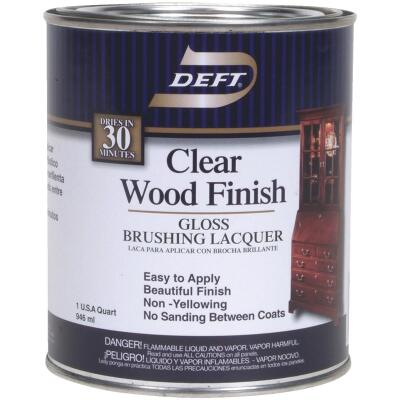 Deft Gloss Quart 100 Sq. Ft./Qt. Lacquer