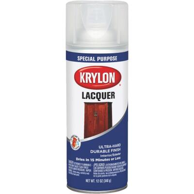 Krylon 12 Oz. Clear Spray Lacquer
