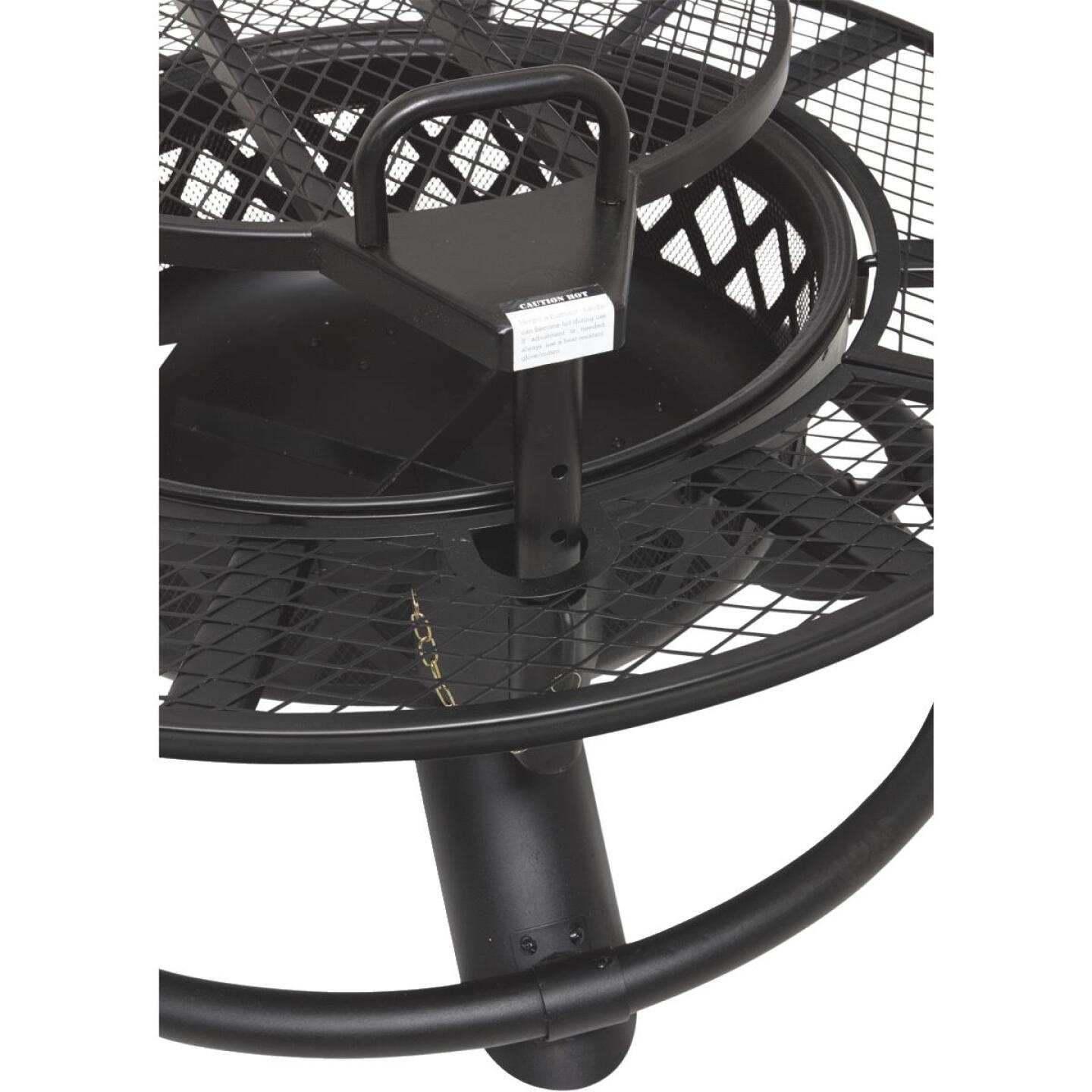 Big Horn 47 In. Camp Black Round Steel Fire Pit Image 4