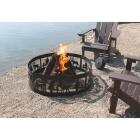 """Outdoor Expressions 36"""" Antique Bronze Steel Fire Ring Image 5"""