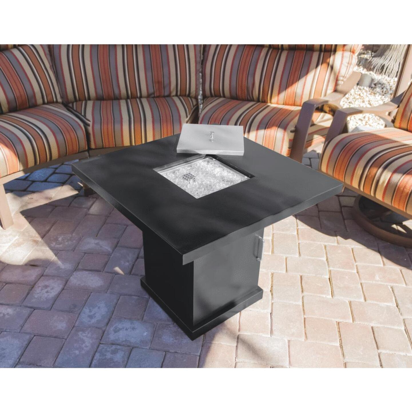 Hiland 30 In. Square Fire Pit Image 2