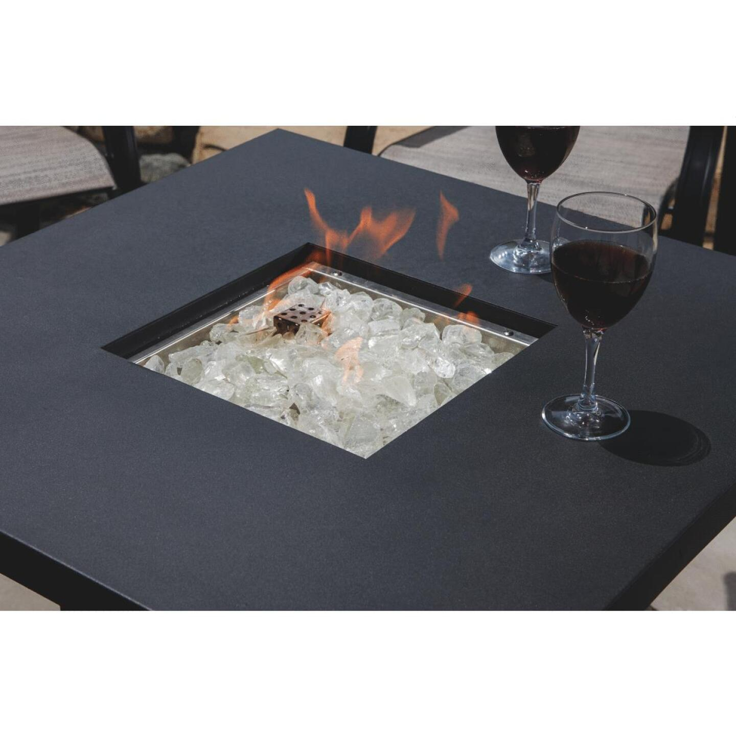 Hiland 30 In. Square Fire Pit Image 4