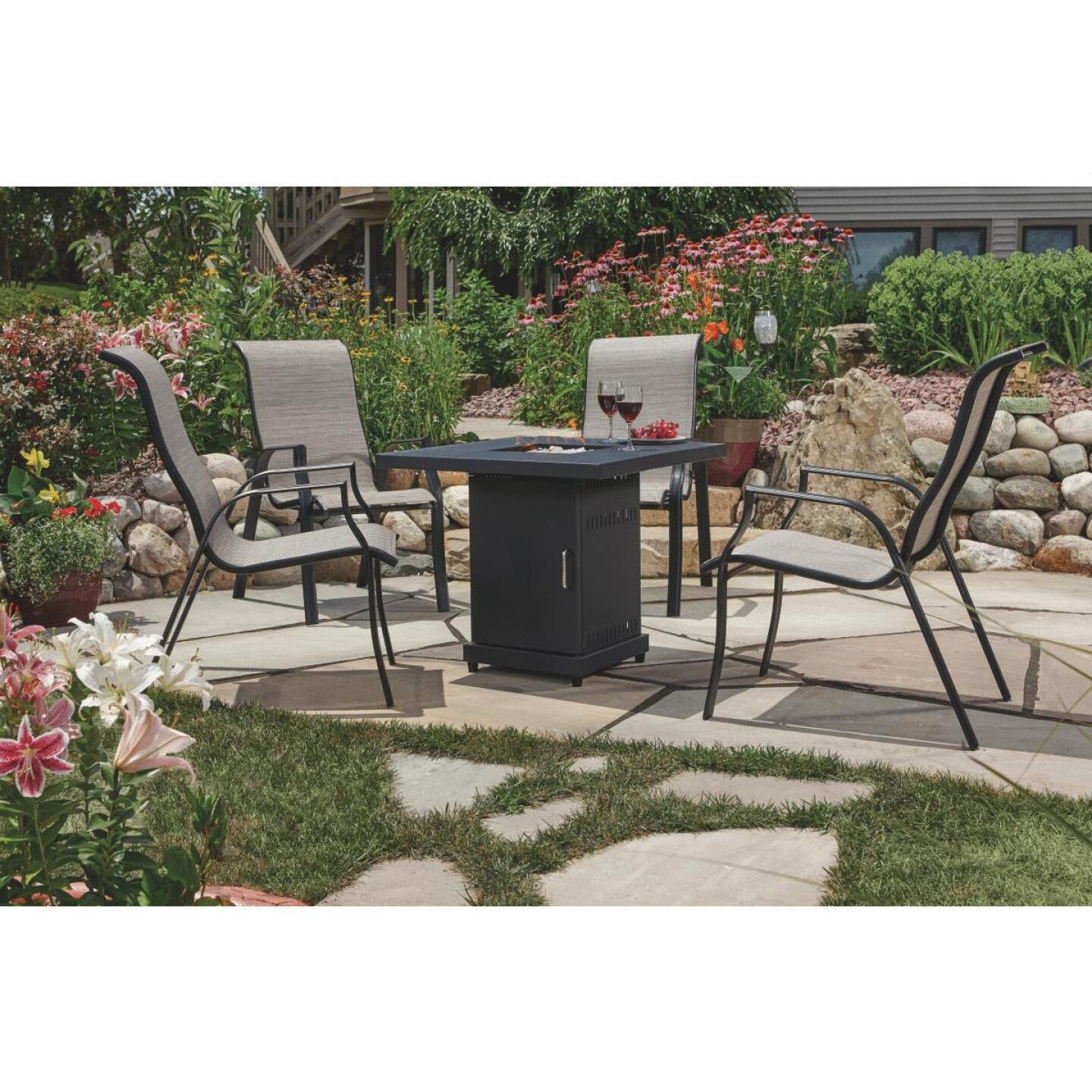 Hiland 30 In. Square Fire Pit Image 10