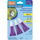 Hartz UltraGuard 3-Month Supply Flea Treatment For Cats & Kittens Image 1