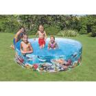 Intex 18 In. D. x 8 Ft. Dia. Polyethylene Deep Blue Sea Snapset Pool Image 2