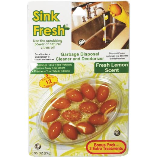 Sink Fresh Garbage Disposal Cleaner & Deodorizer (12-Pack)