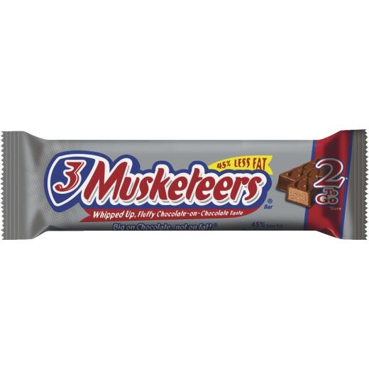 3 Musketeers 3.28 Oz. Milk Chocolate Candy Bar