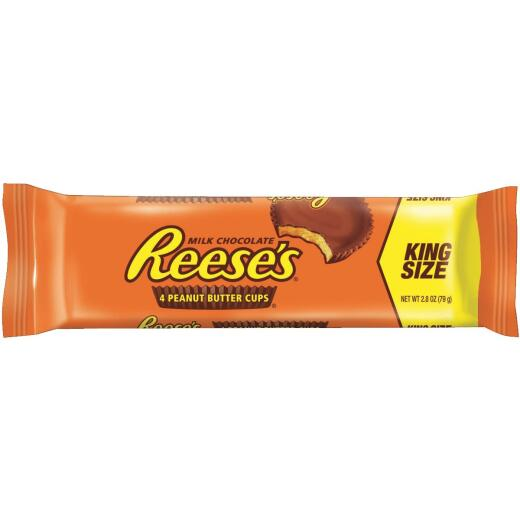 Reese's King Size Peanut Butter Chocolate Cups, 2.8 Oz.