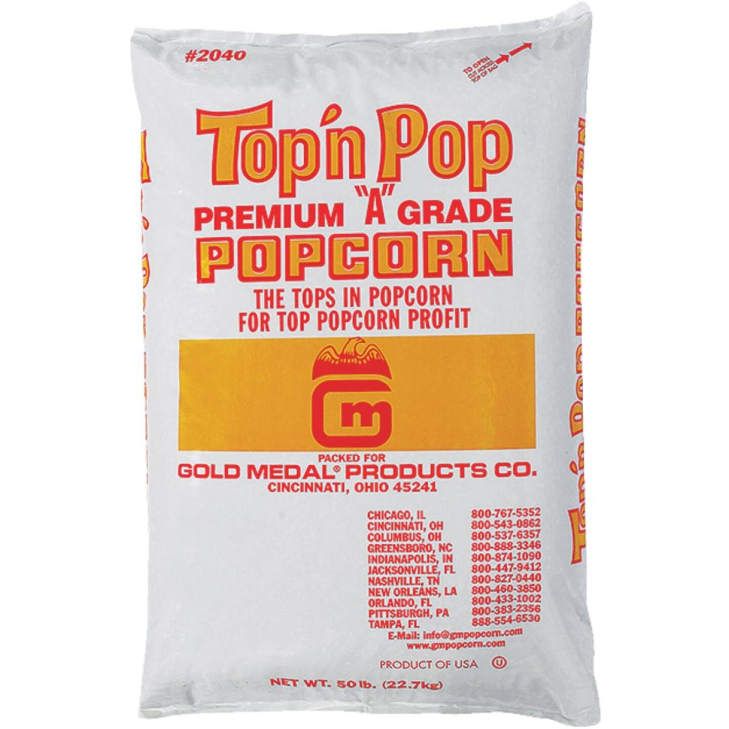 Gold Medal Top 'N Pop 50 Lb. Bulk Popcorn Image 1